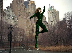 Matrix in Central Park
