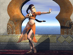 Dancer By The Ocean