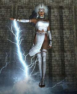 Savia With Lightning