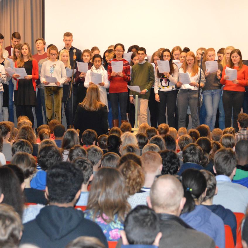 kerstbezinning Sint-Jozefcollege Turnhout (6)