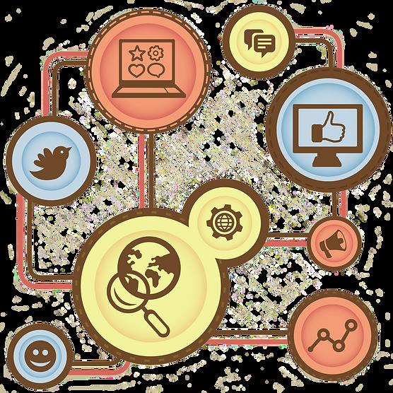 Maak je bedrijf meer zichtbaar op het net! Facebook, Linkedin, twitter,... Bespreek met ons de mogelijkheden!