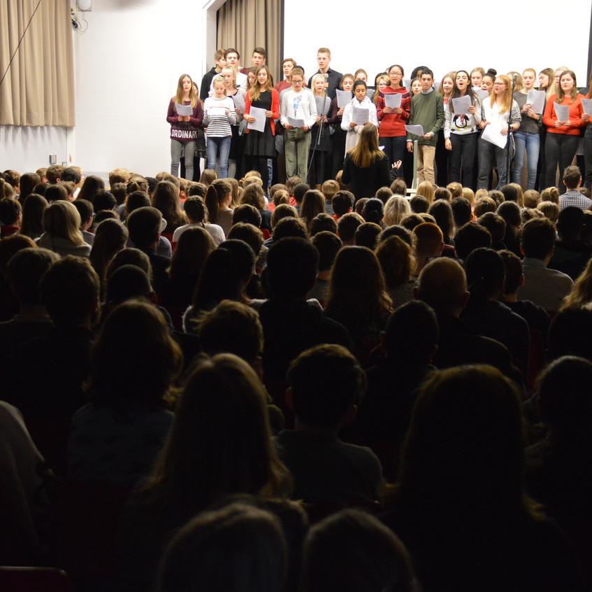 kerstbezinning Sint-Jozefcollege Turnhout (5)