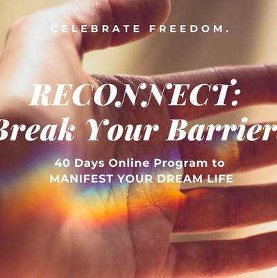 RECONNECT Break Your Barriers