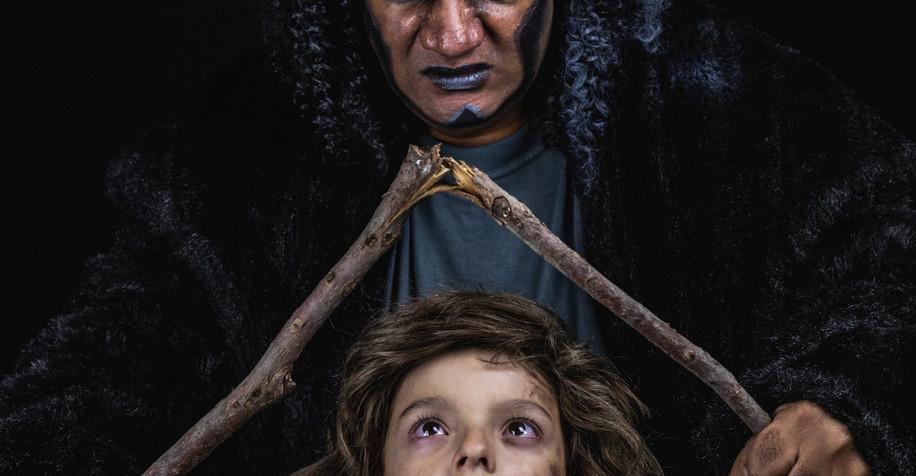 Kerchak and Young Tarzan