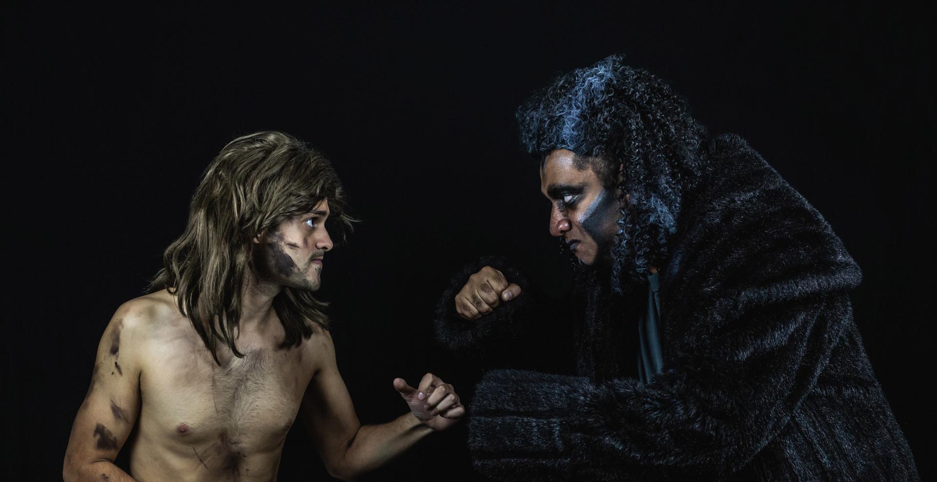Tarzan and Kerchak