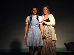 Dorothy and Aunt Em