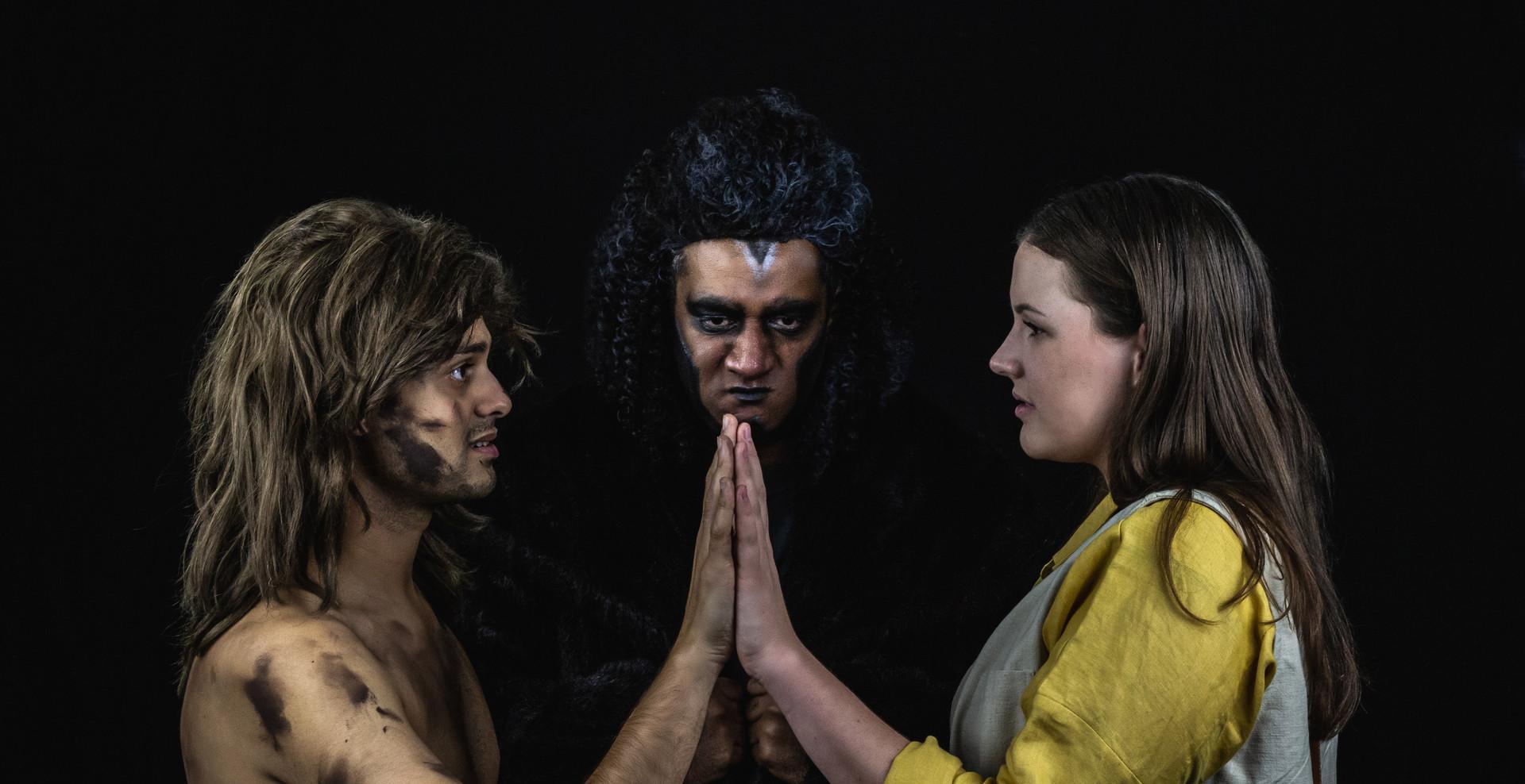 Tarzan, Kerchak and Jane