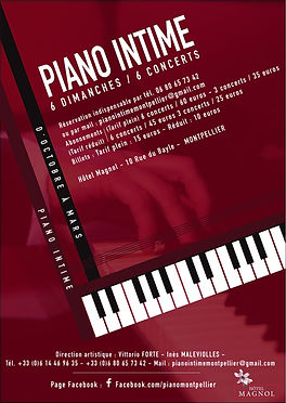 Concert Piano Montpellier
