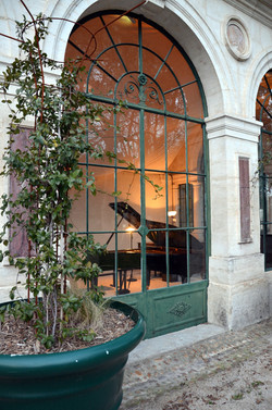 Concert de piano à l'Orangerie