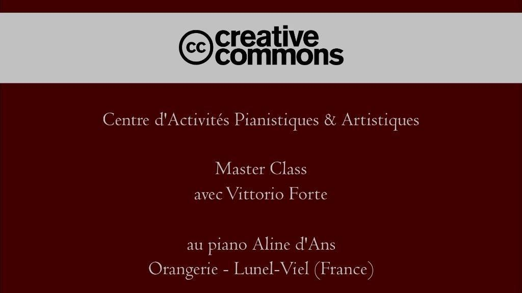 COURS DE PERFECTIONNEMENT & MASTER CLASSES