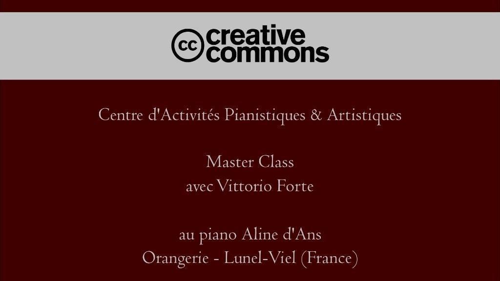 Master Class C.A.P.A. - Chopin Fantaisie en fa mineur op.49