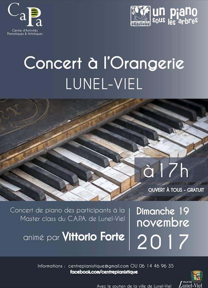 Concert des participants