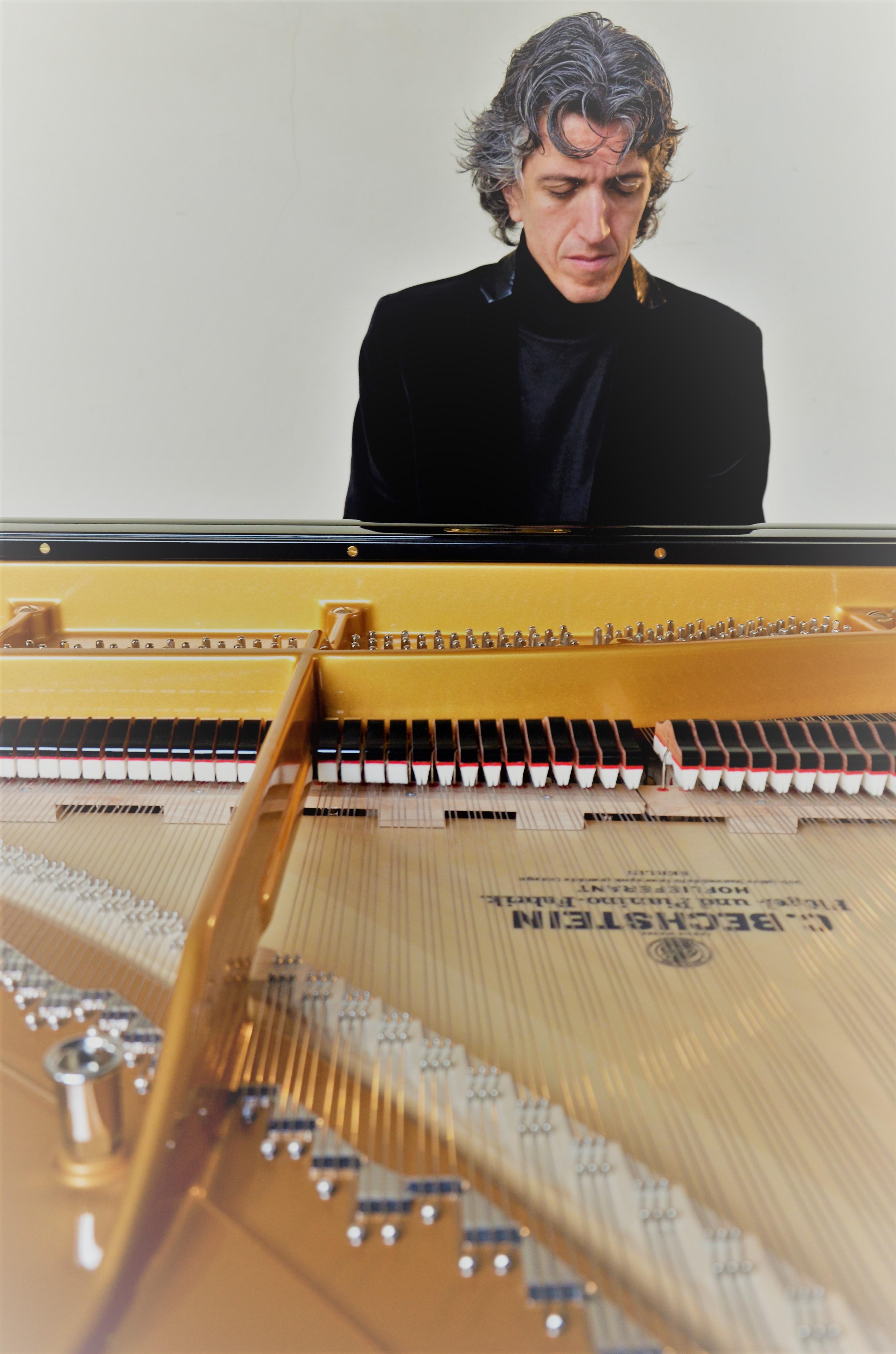 Vittorio Forte au piano