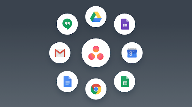 Asana works with G Suite Tools