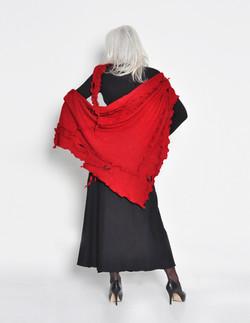 Châle Rouge - femme