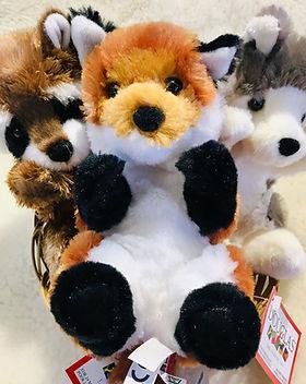 raccoon-fox-wolf-lil-handful-stuffed-ani