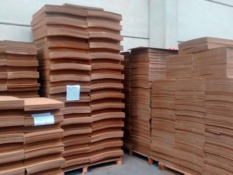 'Termômetro' da indústria, venda de papelão tem crescimento recorde