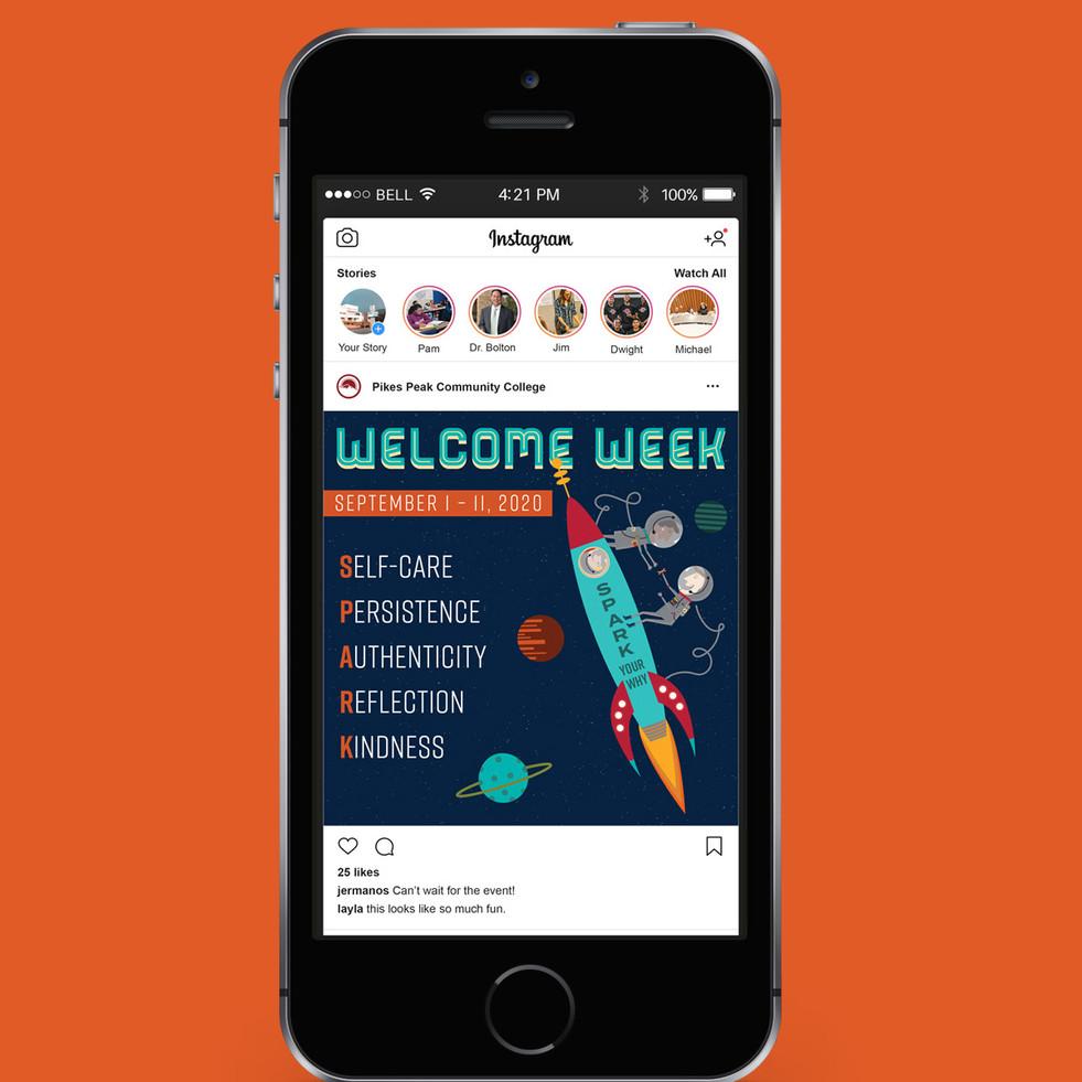 Welcome Week | Social Media