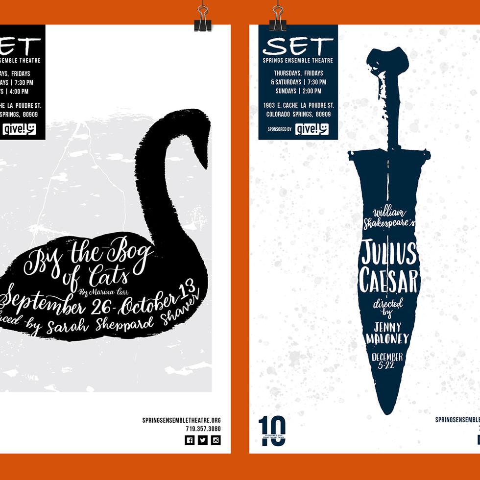 Springs Ensemble Theatre Posters