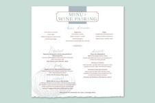 2019 Fran Folsom Culinary Arts Dinner Invitation Suite