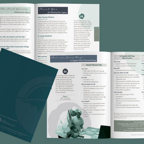 2021 PPCC Foundation Donor Solicitation Brochure