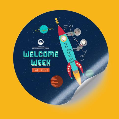 Welcome Week | Sticker
