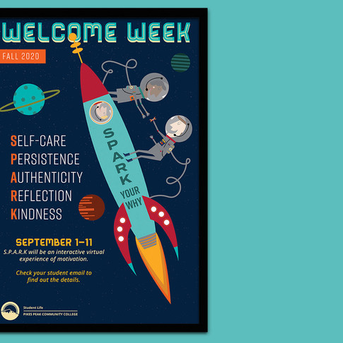 Welcome Week | Poster