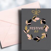 Festive AF Card