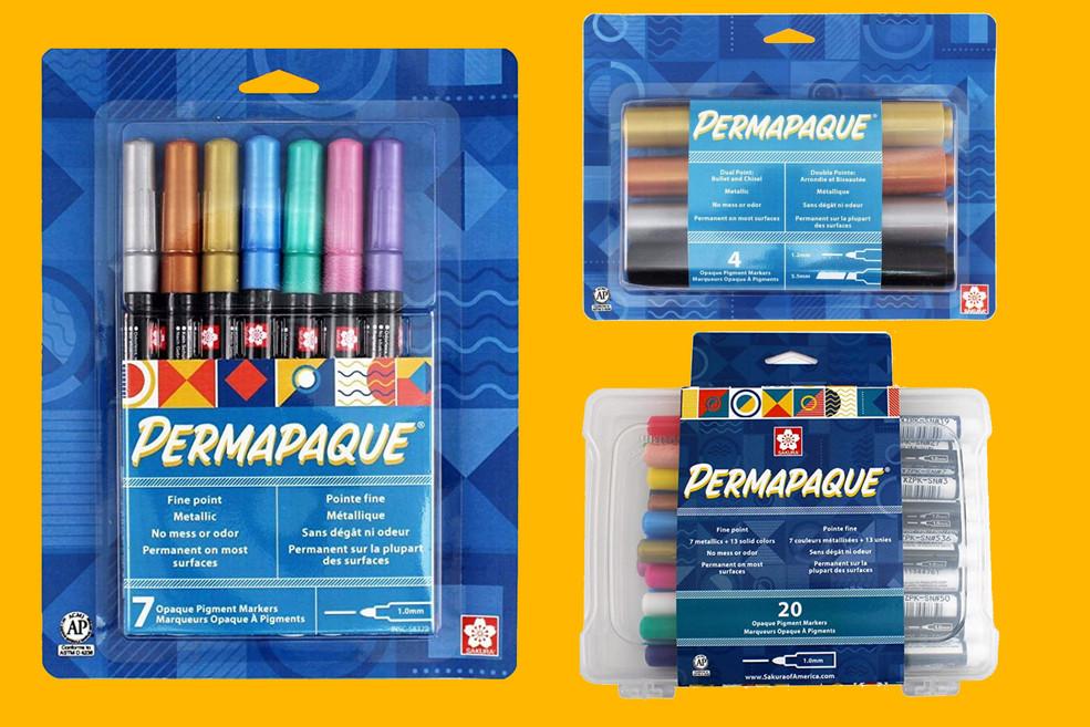 Sakura of America Permapaque Packaging Design