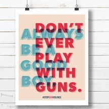 Stop Gun Violence Print