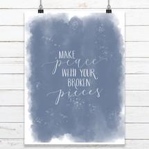 Make Peace Print