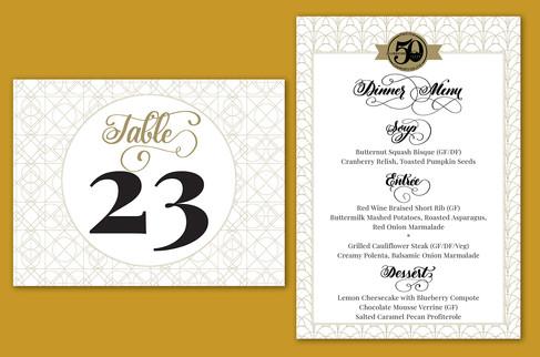 2018 PPCC Golden Gala Invitation Suite