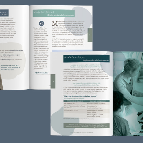 2021 PPCC Foundation Donor Solication Brochure