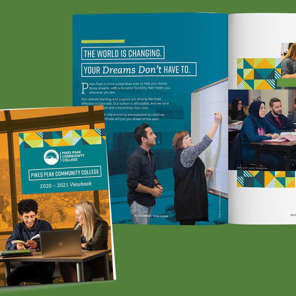2020 Pikes Peak Community College Viewbook