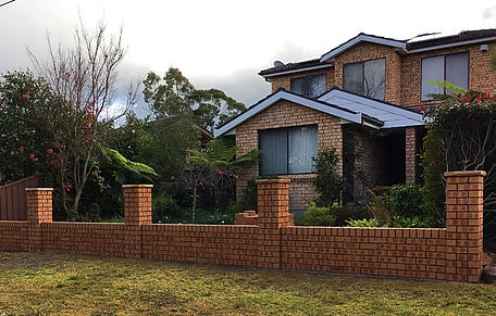 Brick Fence By Dans Bricklaying