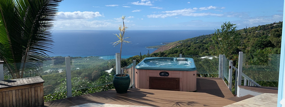 View From Hot Tub