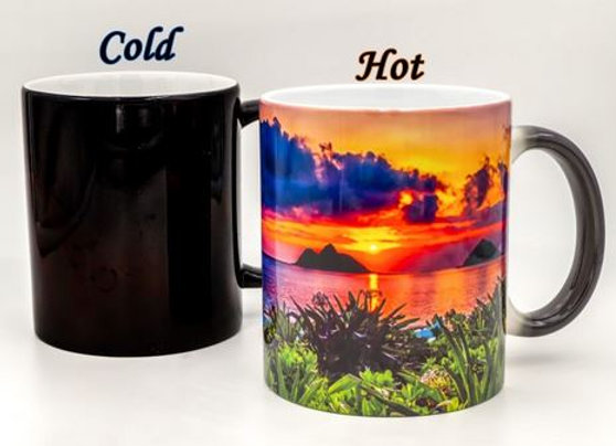 Lanikai Beach Oahu - Color Changing Mug