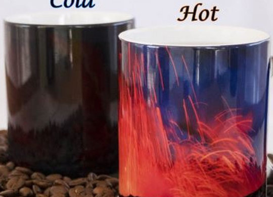 Lava Fountain - Color Changing Mug
