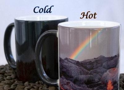 Rainbows and Lava - Color Changing Mug