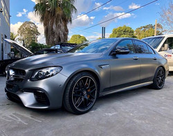 Here we have the new Mercedes E63s AMG E