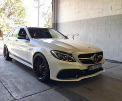 C63S Wagon Edition 1 in for a paint refr