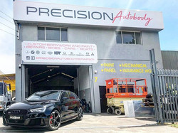 Happy New Year from Precision Autobody R