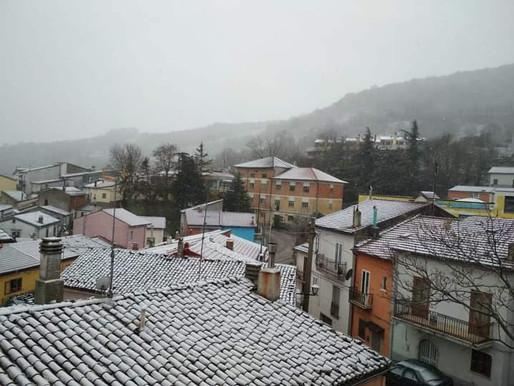 Arriva la neve...