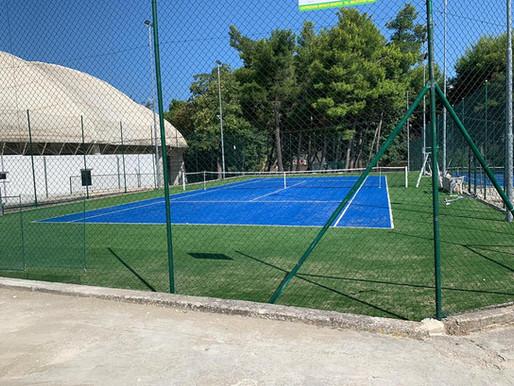 Vico, campi da tennis totalmente rinnovati