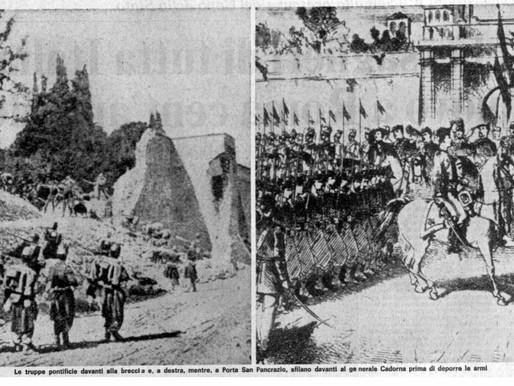 20 Settembre 1870: l'Italia a Roma. E gli italiani?