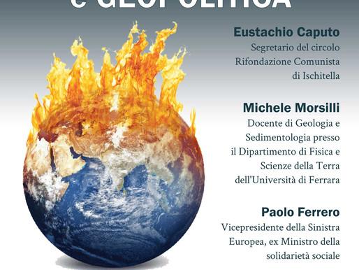 Cambiamenti climatici e geopolitica