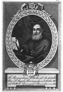 Garganici Illustri - Mons. Bernardino d'Avolio O.F.M. Cap. Vescovo di Trivento