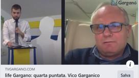Vico ospite di Tv Gargano