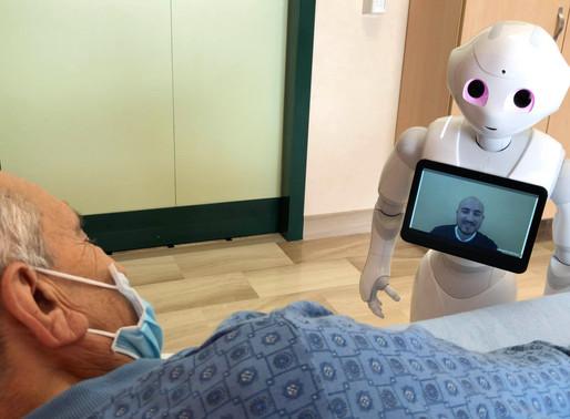Pepper: la robotica assistiva al servizio delle persone anziane