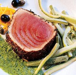 salmão grelhado com alho e limão